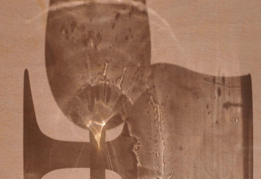 Zwei leere Gläser